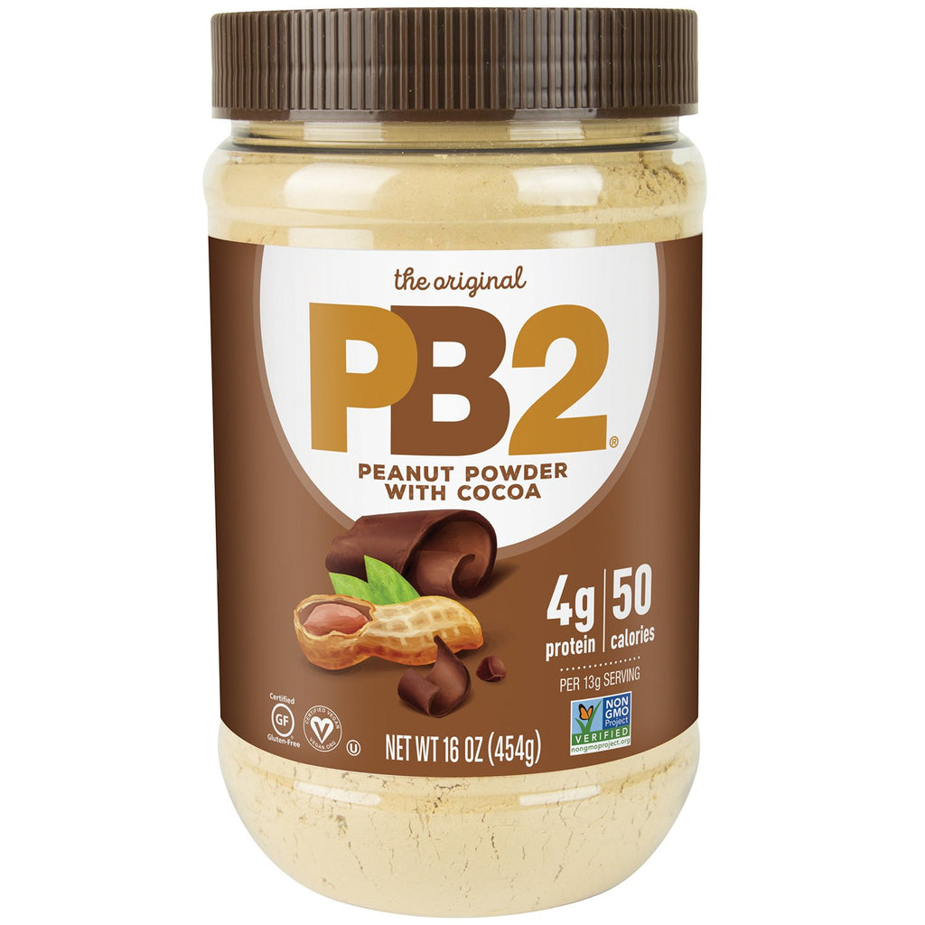 Bell Plantation PB2 Powdered Peanut Butter With Cacao 184g & 454g