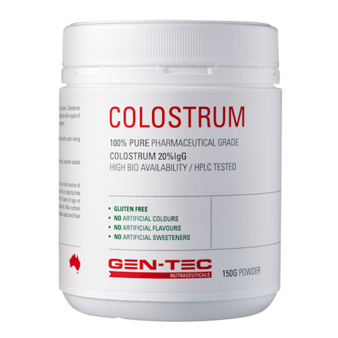 Gen-Tec Nutrition Colostrum 150g Powder