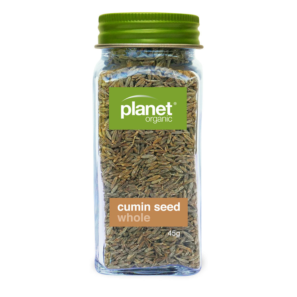 Planet Organic Cumin Seed Whole 45g