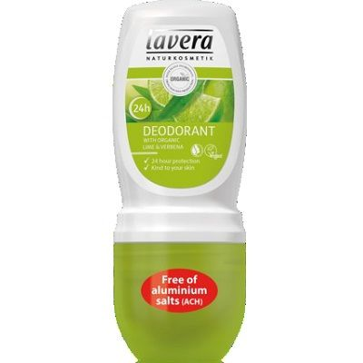 Lavera Deodorant Roll On 50ml, With Organic Lime & Verbena