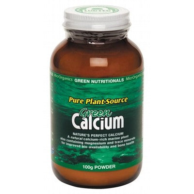 Green Nutritionals Green Calcium Powder (950mg) Various Quantities