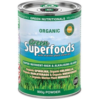 Green Nutritionals Green Superfoods Powder Various Quantities