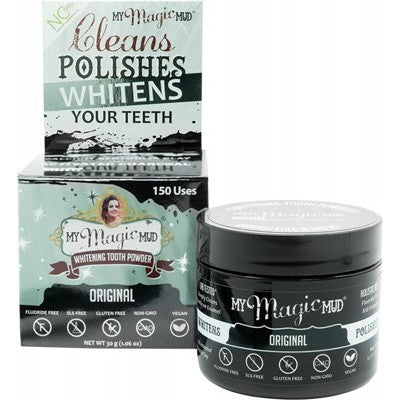 My Magic Mud Whitening Tooth Powder With Activated Charcoal Original 30g
