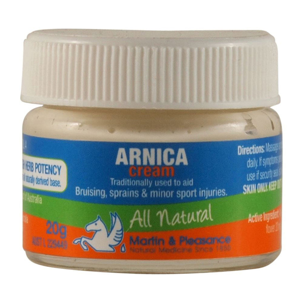 Martin & Pleasance All Natural Cream Arnica Various Quantities