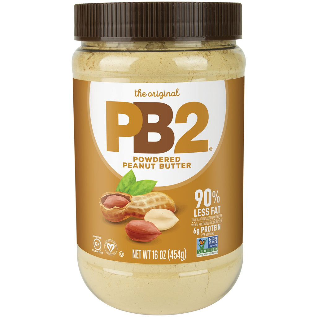 Bell Plantation PB2 Powdered Peanut Butter 184g Or 454g Natural Flavour