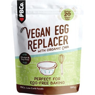 PBCo Vegan Egg Replacer With Organic Chia 180g
