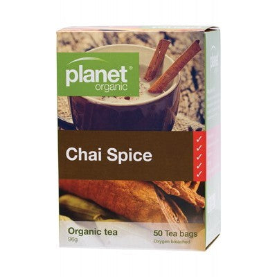 Planet Organic Chai Spice Herbal Tea Bags Various Quantities