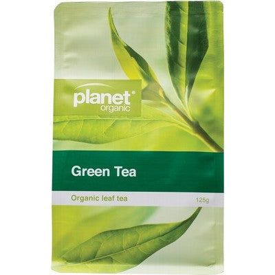 Planet Organic Green Tea Herbal Loose Leaf 125g