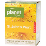 Planet Organic St Johns Wort 25 Herbal Tea  Caffeine Free