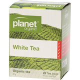 Planet Organic White Tea 25 Herbal Tea Bags