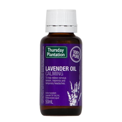 Thursday Plantation Lavender Oil 25ml Or 50ml, 100% Pure