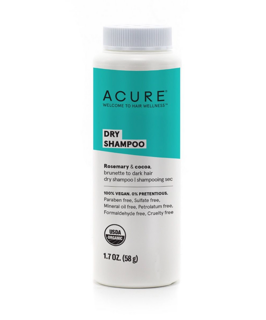 Acure Brunette To Dark Hair Types  Dry Shampoo 58g