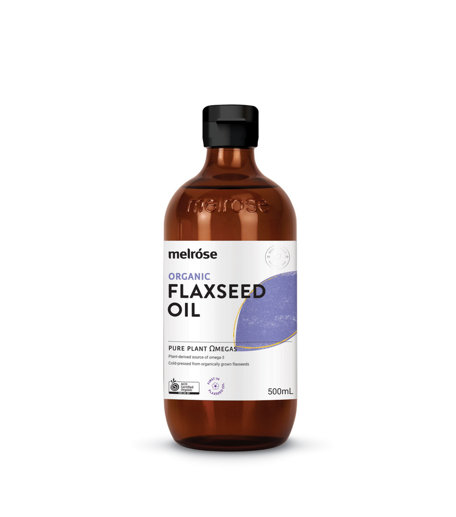 Melrose Flaxseed Oil Certified Organic