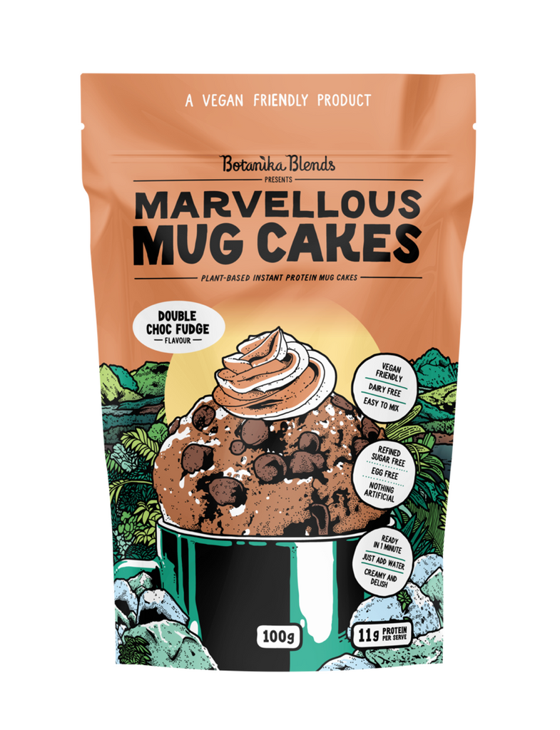 Botanika Blends Marvellous Mug Cakes 100g Double Choc Fudge Flavour