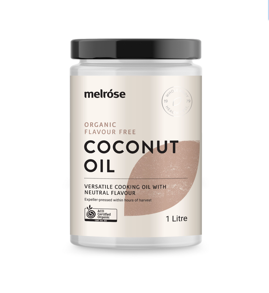Melrose Organic Coconut Oil 325ml Or 1L, Full Flavour