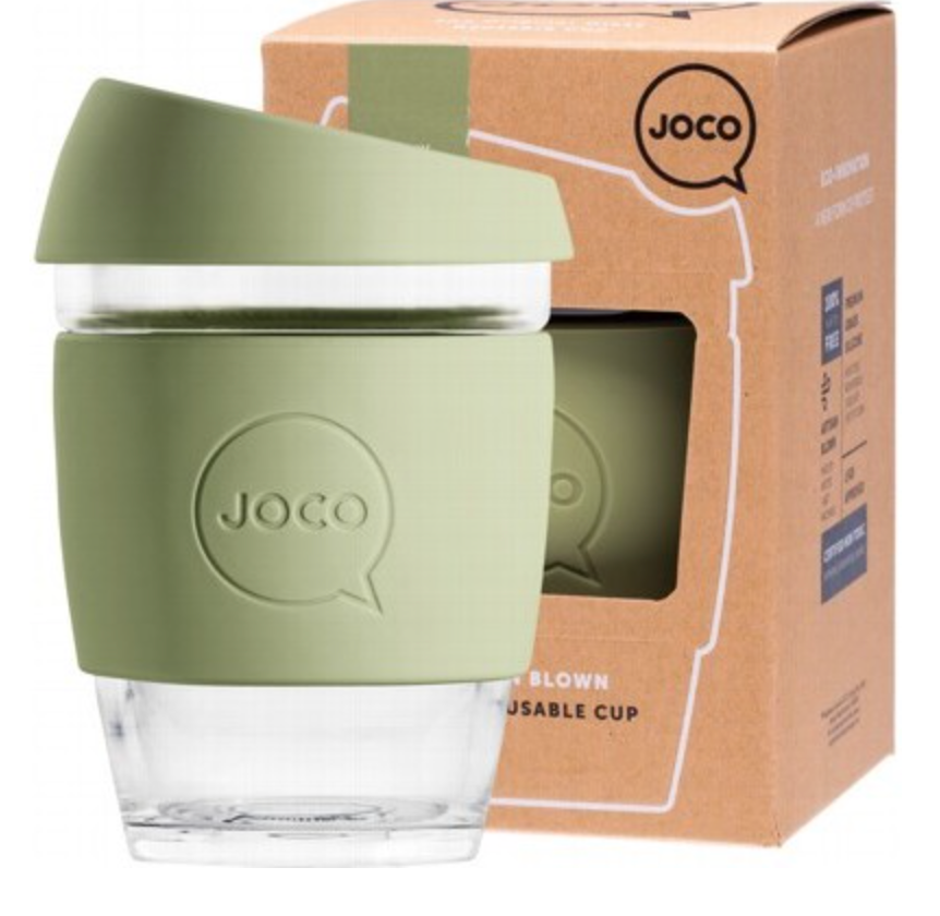 Joco Reusable Glass Cup 12oz/354ml
