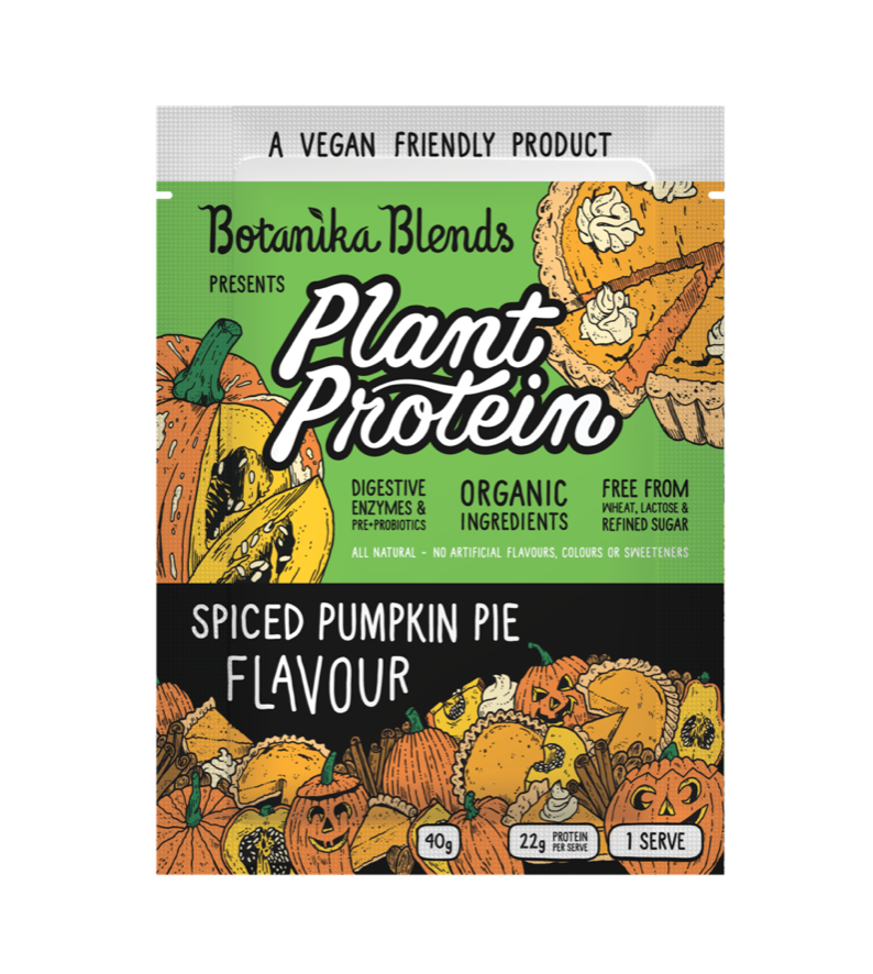 Botanika Blends Plant Protein 40g, 500g Or 1Kg Spiced Pumpkin Pie Flavour