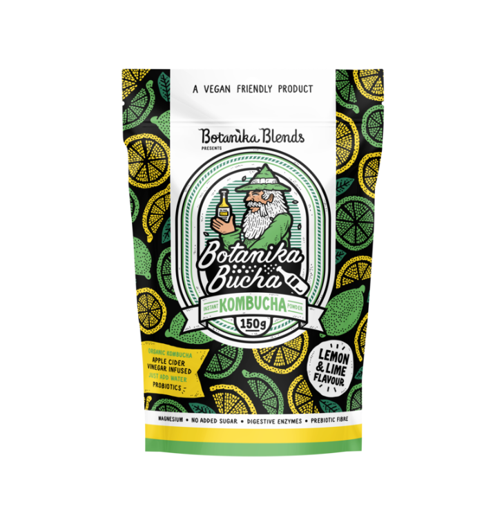 Botanika Blends Botanika Bucha Instant Kombucha Powder 15g Or 150g Lemon Lime Flavour