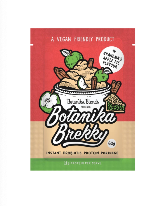 Botanika Blends Botanika Brekky Probiotic Porridge 60g Or 1Kg Grandma's Apple Pie Flavour
