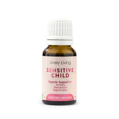 Lively Living Sensitive Child Organic Essential Oil Blend 15ml