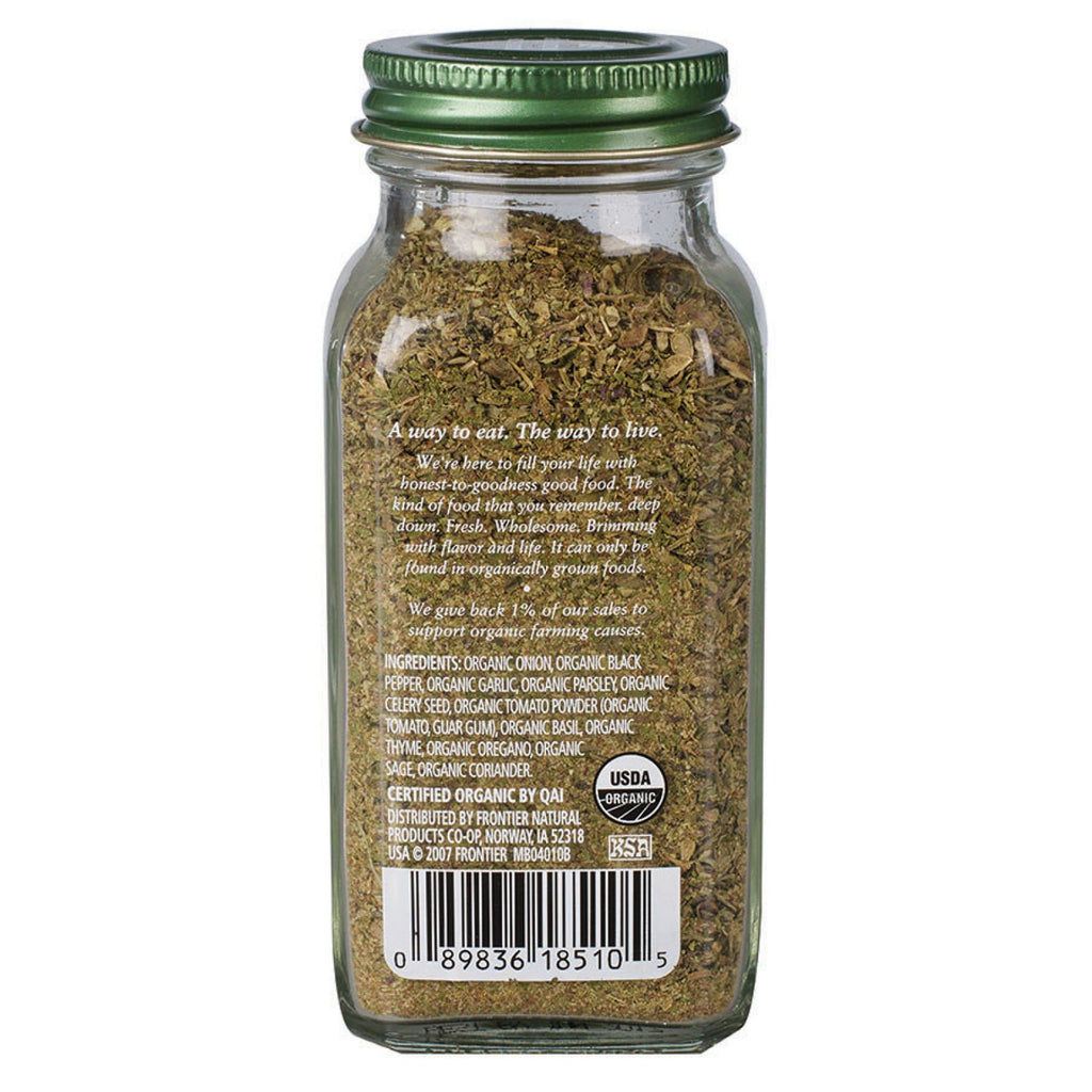 Simply Organic All Purpose Seasoning 59g, (Glass Jar)