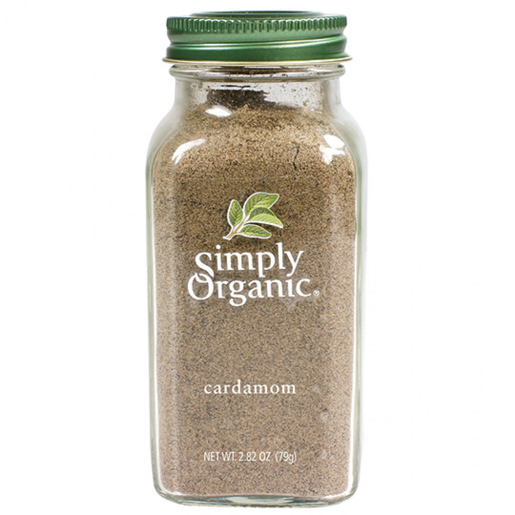 Simply Organic Cardamom 80g Ground (Glass Jar)