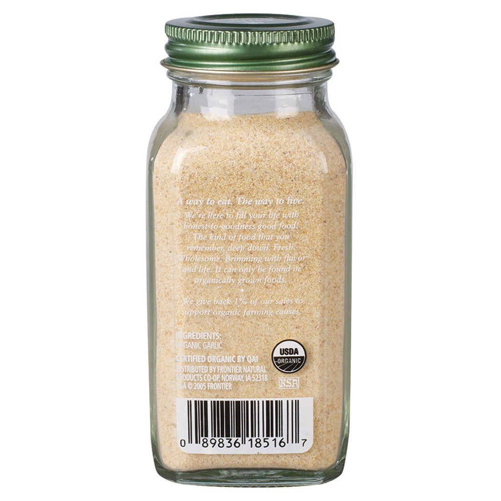 Simply Organic Garlic Powder 103g (Glass Jar)