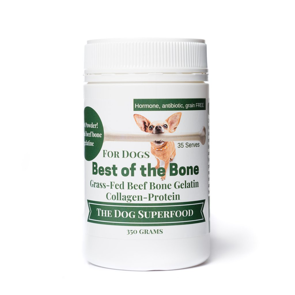 Best Of The Bone Grass-Fed Certified Beef Bone Broth Concentrate 350g For Dogs