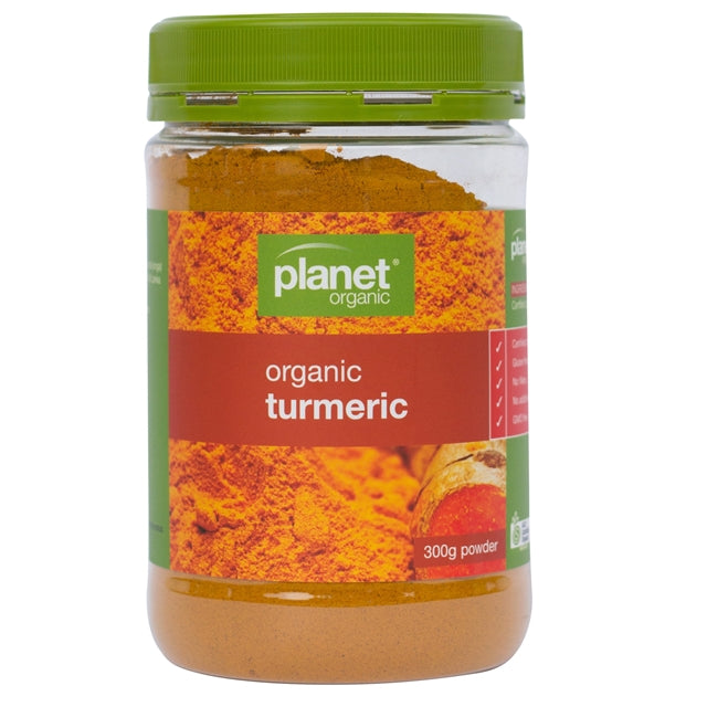 Planet Organic Turmeric Spice Various Sizes