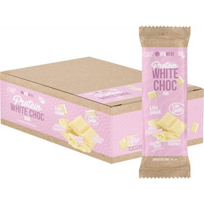Vitawerx Protein White Chocolate Bar 35g or Box of 12