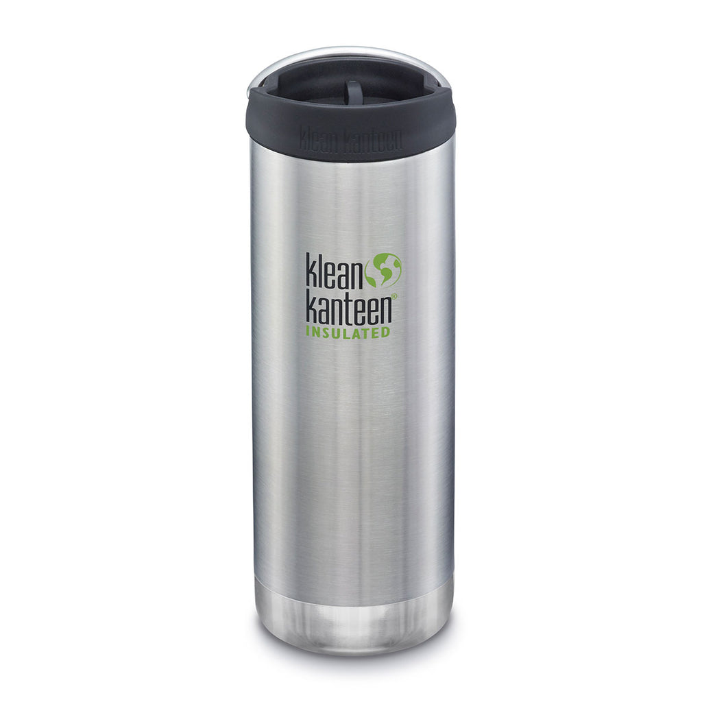 Klean Kanteen TKWide With Cafe Cap 16oz (473ml), Insulated (14 Hrs Hot, 47 Hrs Iced)