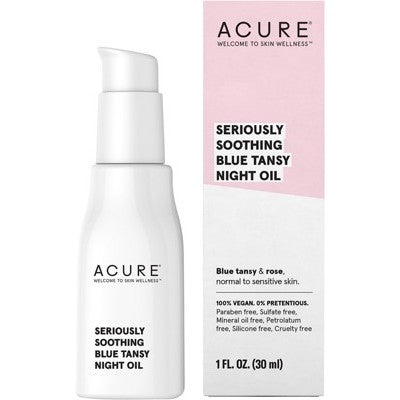 Acure Seriously Soothing Blue Tansy Night Oil 30ml