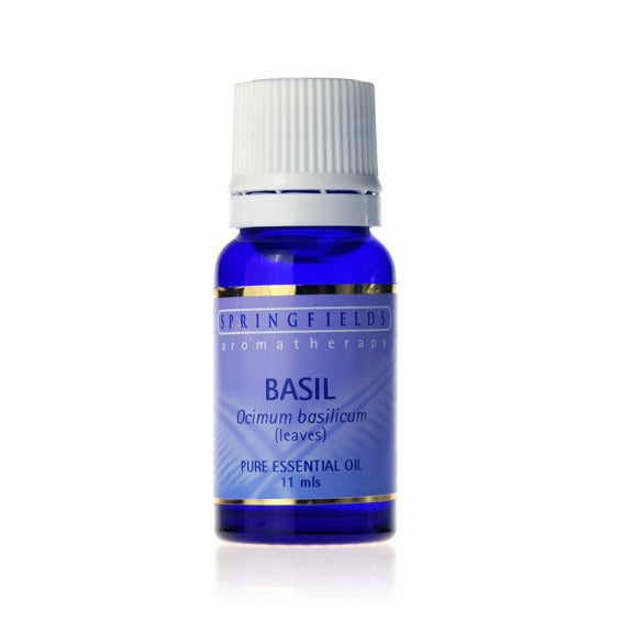 Springfields Basil Aromatherapy Oil 11ml
