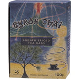Byron Chai Indian Spiced Tea, 25 Tea Bags