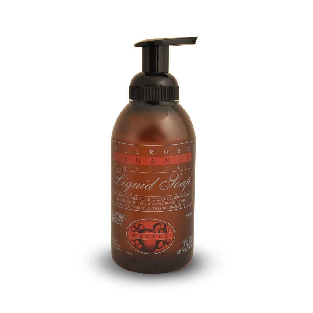 Melrose Organic Orange Castile Liquid Soap 500ml