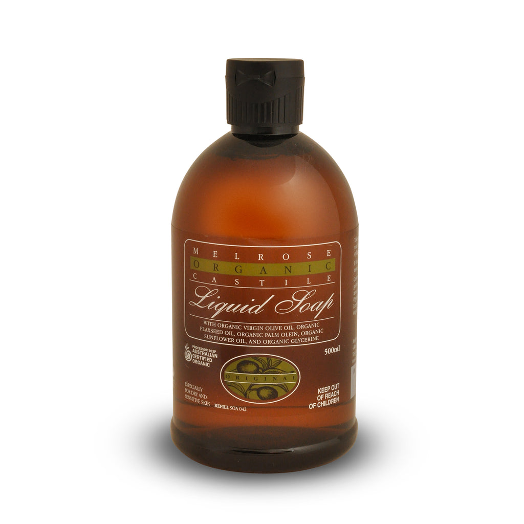 Melrose Organic Original Castile Liquid Soap Refill 500ml