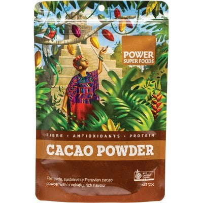 "Power Super Foods Cacao Powder ""The Origin Series"", 125g, 250g, 500g Or 1Kg"