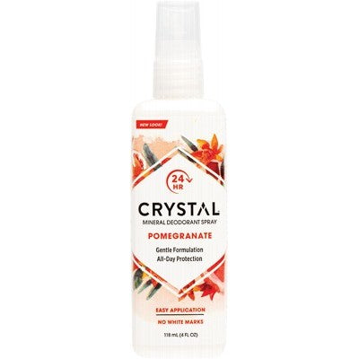 Crystal Deodorant Spray 118ml Pomegrante
