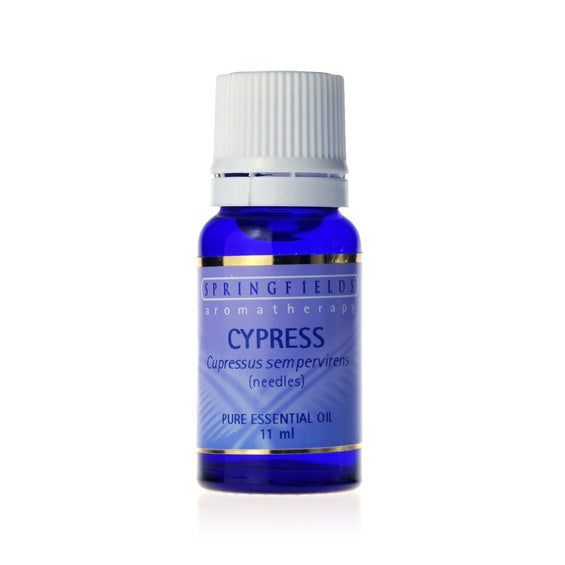 Springfields Cypress Aromatherapy Oil 11ml