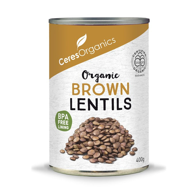 Ceres Organics Brown Lentils 400g