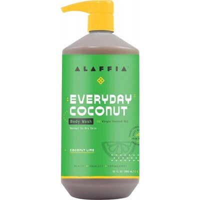 Alaffia Everyday Coconut Body Wash - Coconut Lime 950ml