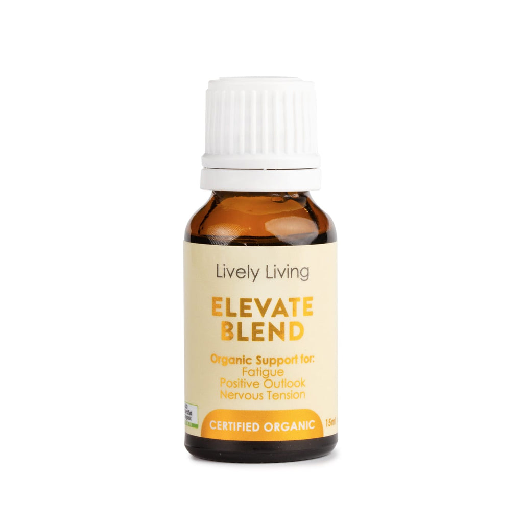 Lively Living Elevate Organic Essential Oil Blend 15ml