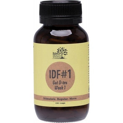 Eden Health Foods IDF#1 Gut D-tox Week 1 - 100 Vegecaps