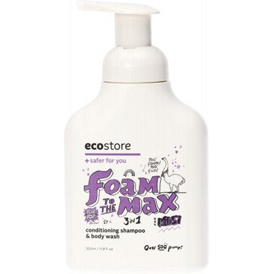 Ecostore Kids 3-in-1 Conditioning, Shampoo & Body Wash 350ml Pear Pop Fragrance
