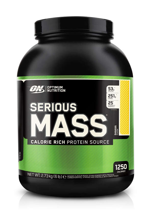 Optimum Nutrition Serious Mass Banana 2.27kg