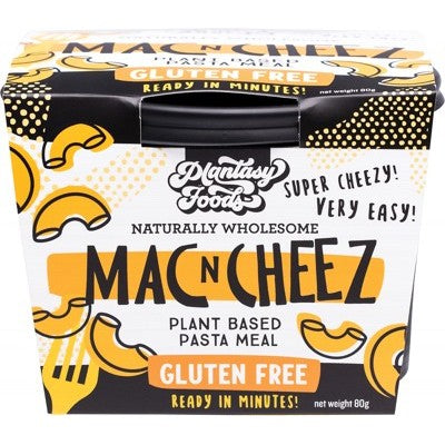 Plantasy Foods Mac N Cheez 80g, Mac N Go