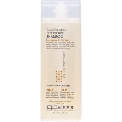 Giovanni Golden Wheat Deep Cleanse Shampoo 250ml