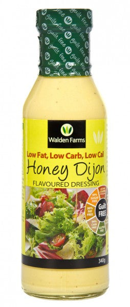 Walden Farms Guilt Free Honey Dijon Salad Dressing 340g