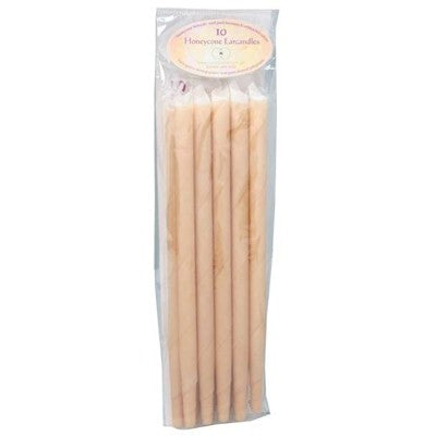 Honeycone Ear Candles Without Filter 100% Unbleached Cotton 2, 4, 6, 10 Or 20 Pack