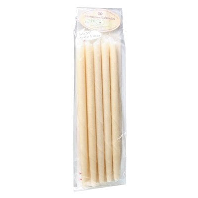 Honeycone Ear Candles With Filter 100% Unbleached Cotton 2, 4, 6 Or 10 Pack